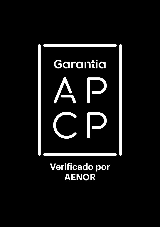 Certificado de Garantía de la APCP